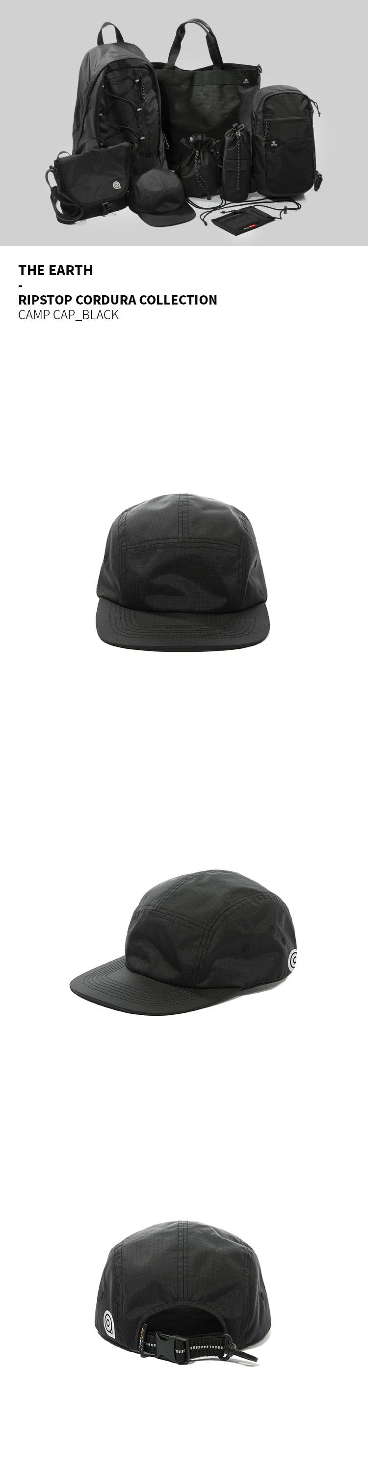 디얼스(THE EARTH) RIPSTOP CORDURA CAMP CAP - BLACK