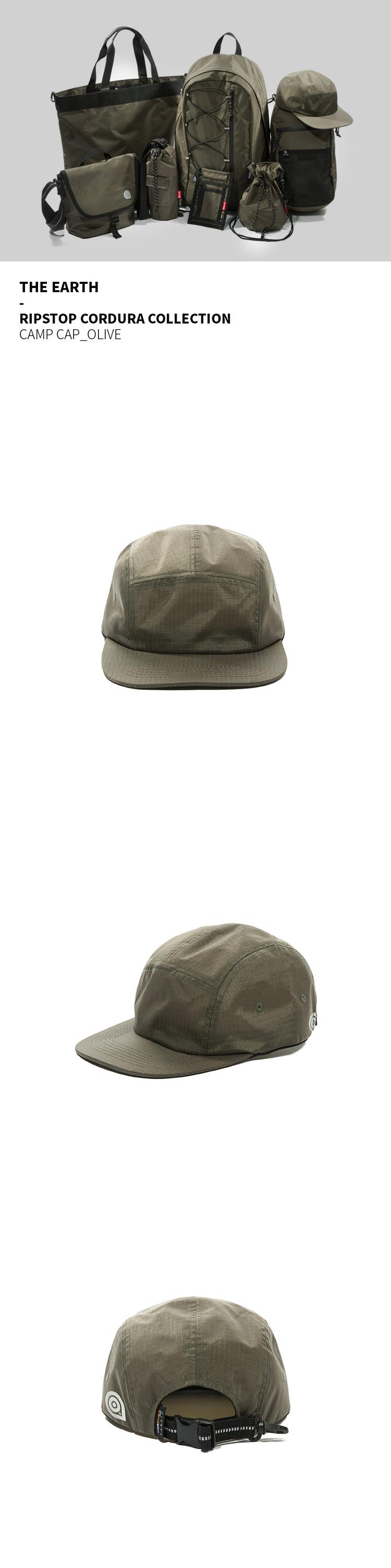 디얼스(THE EARTH) RIPSTOP CORDURA CAMP CAP - OLIVE